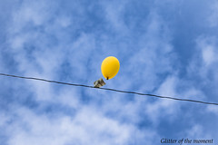 2016 05 21 - 151800 0 Canon EOS 7D Mark II (ONLINED1782A) Tags: canon eos 7dmarkii ef100400mmf4556lisiiusm yellow balloon yellowballoon 風船 sky 空 cloud 雲