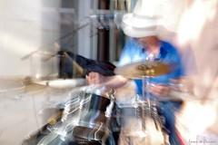 Jazz au Clos St-Louis (Loran de Cevinne) Tags: pentax batteur batterie jazz flou france flouartistique blur var laseynesurmer provence tamaris closstlouis concert live pearl jazzman