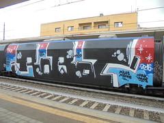 ag <3 (en-ri) Tags: robot miles meche spit colo tma honet pum necro sexy train torino graffiti writing wholecar endtoend toptobottom