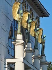 Otto-Wagner-Kirche (NoDurians) Tags: ottowagnerspital ottowagner steinhof wien vienna kircheamsteinhof 1140 jugendstil artnoveau
