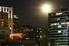 Seattle Moonrise (alexDPhotography - Alex Diaconou) Tags: seattle skyline washington state cityscape moon moonrise pacific northwest