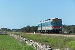 AD44 FSE - Sternatia (Giovanni Grasso 71) Tags: ad44 automotrice diesel ferrovie sud est puglia nikon d610 giovanni grasso stermatia