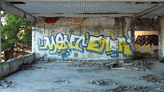 Lost Place Beauty (sramses177) Tags: ruin hotel marinalucica primosten croatia kroatien lostplace verlasseneorte building omd olympus gebude architecture graffiti street art