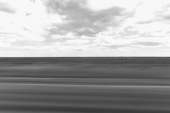 (idiotsarewinning) Tags: canon5dmarkiii raw blackwhite nb noirblanc long exposure motion blur train sncf tgv grand vitesse moving paul morand france 66m serie passing outdoor sky