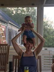 Hattie and Eliza (elizajanecurtis) Tags: 5months eliza gorham hattie porch