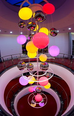 Sol Central Entertainment Centre (Corley + Woolley Limited) Tags: corleywoolley fitoutinterior fitout interior indoors rerubishment refub chandelier lights floors
