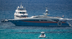Aurelia Motor Yacht (jonskids) Tags: ibiza calatarida sensatoriresortibiza sensatori aurelia motoryacht
