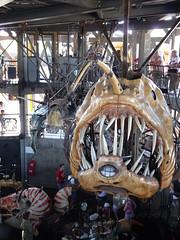 mechanical angler fish carousel seat (d0gwalker) Tags: merrygoround carrousel carousel anglerfish nantes iledenantes machinesdelile paysdelaloire loireatlantique