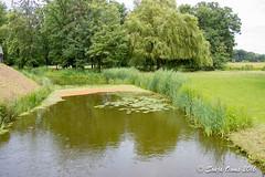 MOAT PIETERSHEIM (Sonja Ooms) Tags: belgie belgium green history lanaken moat moatpietersheim nature pietersheim tree water watercastle waterburcht