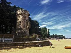 Ryde, Isle of Wight (Jainbow) Tags: ryde isleofwight sand beach sea solent appleytower appley jainbow