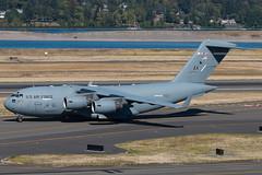 Frozen 42 (sabian404) Tags: 000174 3rd wing 517th airlift squadron united states air force usaf alaska elmendorf ak 3wg 517as portland international airport pdx kpdx boeing c17a globemaster iii c17