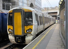 Thameslink 387111, seen at Farringdon (Greater London Photos) Tags: thameslink core programme london class 387