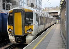 Thameslink 387111, seen at Farringdon (Greater London Photos) Tags: thameslink core programme london class 387