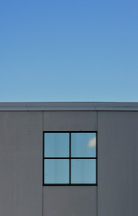 DSC_0442 (stu ART photo) Tags: walls window square reflection sky blue