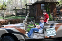 Jeep Ride (Marlisa Osborne) Tags: zoo knoxville jacob brandon