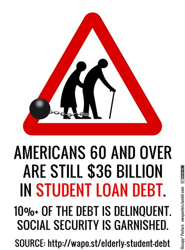 Elderly Americans Have $36 Billion in Student Loan Debt