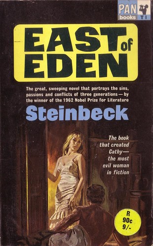 the importance of the character of cathy in east of eden by john steinbeck Clearly lee is the more important character why does he speak english so readily with samuel her hands how does steinbeck convey cathy's physical decline and adam's response to her 10 why does abra tease the boys does she seem admirable east of eden john steinbeck.