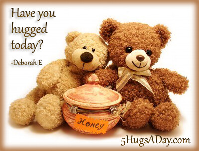 Have you hugged today?