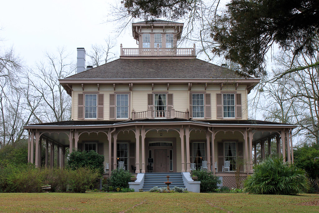Exceptional Victorian Cupola #8: Doll) Tags: Alabama Victorian Cupola Belvedere 1860 Italianate