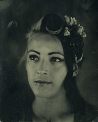 Leen (sdzn) Tags: chris portrait femme wetplate collodion autaut sdzn mettraux