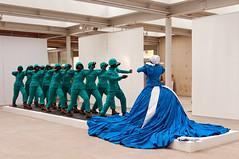 Mary Sibande - Lovers in Tango, 2011 (de_buurman) Tags: sculpture art kunst sculptuur exhibit exhibition nikkor tentoonstelling southafrika 18200mmf3556gvr ©allrightsreserved museumbeeldenaanzee nikond300 debuurman edjansen therainbownation marysibande denhaagsculptuur2012