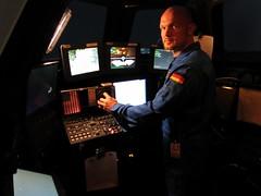 Cupola robotic workstation simulator (JSC Houston) (Astro_Alex) Tags: training astronaut nasa cupola mission iss esa jsc htv roboticarm internationalspacestation alexandergerst