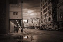 Garrick (bryanscott) Tags: rain architecture clouds winnipeg manitoba garrytheatre