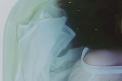 Gone (Devined) Tags: flowers light sea lake flower wet water girl hair dead bathroom dress bathtub alive shoulder drown soaked drowned