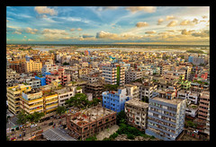 Little Boxes! (Shutterfreak ☮) Tags: street city clouds buildings river landscape nikon cityscape horizon dhaka conceptual bangladesh lyrical d5000 inkiad