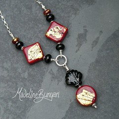 """Deco Rocks Red necklace • <a style=""""font-size:0.8em;"""" href=""""https://www.flickr.com/photos/37516896@N05/7251231062/"""" target=""""_blank"""">View on Flickr</a>"""