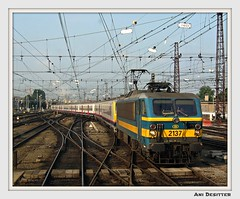 2137 SNCB (Belgium) (BIBI Tornado) Tags: pictures camera railroad italy france ice digital truck germany europe track searchthebest belgium diesel photos muscle frankfurt engine experiment bruxelles eisenbahn rail trains kln db international trucks transports ani