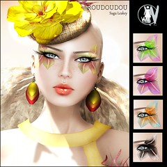 White Widow - Roudoudou ( Suga Leakey ) Tags: fashion tattoo makeup whitewidow juliehastings