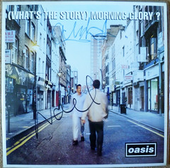oasis signed lp (swamphead008) Tags: whats story oasis lp signed