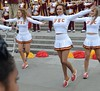 Img284884nx2 (veryamateurish) Tags: london trafalgarsquare cheerleaders band usc universityofsoutherncalifornia girl woman miniskirt