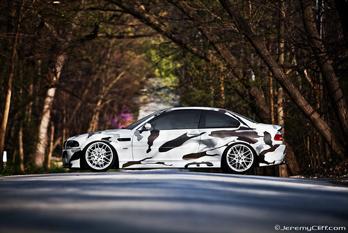 Arctic Camo e46 BMW M3 for Tuning Magazine - a photo on