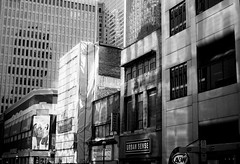 urban.sense (jonathancastellino) Tags: toronto film 35mm buildings closed downtown cbd yonge asa200 centralbusinessdistrict urbansense