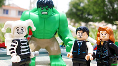 Week 23 (chrisofpie) Tags: life city chris man cute project pie outdoors star funny lego lol super ironman busstop kind adventure story liam legos hero superhero knight week brave agent heroes blackwidow minifig hulk weeks today mime avengers 52 breakout minifigure avenger klutz theavengers minifigures brucebanner 52weeks natasharomanoff stunningphotography legohero nataliaromanova whitejester legomarvel chrisofpie 52weeksofliamthemime