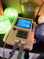 PolargraphSD in it's case (Euphy) Tags: robot drawing machine lcd arduino polargraph