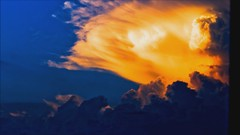 Pillar of Fire (JoeyBoyer) Tags: sunset cloud storm colors clouds video amazing front formation sequence majestic majesty billowing