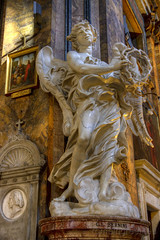 "Basilica di Sant'Andrea delle Fratte, angeli di Bernini • <a style=""font-size:0.8em;"" href=""http://www.flickr.com/photos/89679026@N00/7378321412/"" target=""_blank"">View on Flickr</a>"