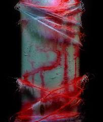 Guerilla Art, Detail - MirrorGround Steinhof - Otto Wagner Spital (hedbavny) Tags: vienna wien blue red streetart colour detail rot art abandoned wool closeup psychiatry austria sterreich blood decay kunst spuren pole textures artnouveau blau anonymous farbe nahaufnahme jugendstil kunstwerk urbanphotography ottowagner himmelblau wolle guerillaart anonym faser penzing kunstimffentlichenraum htteldorf steinhof baumgartnerhhe blutrot ottowagnerspital 14bezirk psychiatrischeskrankenhaus streetphotoghraphy zurckgelassen stadtwien strassenfotografie spiegelgrund hinterlassen psychiatricdepartment authorless grosaufnahme gesundheitseinrichtung carlovonboog frderpflegeheimbaumgartnerhhe pflegeheimsanatoriumstrase sozialmedizinischeszentrumbaumgartnerhhe ottowagnerspitalmitpflegezentrum socialmedicalcenter pavillon35 neurologischeskrankenhausmariatheresienschlssl