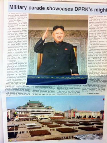 From flickr.com: Kim Jong-un's threatening parade? {MID-72047}