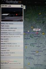 Come on England (Paranoid from suffolk) Tags: england plane football aircraft titan radar 2012 comeonengland flightradar24
