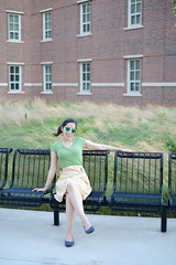 Rena (Taz Spin) Tags: summer girl beauty sunglasses 35mm asian university pretty fujifilm purdue lovely oakley frogskins xpro1