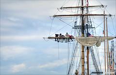 Hawaiian Chieftain (Clayton Perry Photoworks) Tags: boats sails richmond tallships hdr steveston shiptoshore hawaiianchieftain