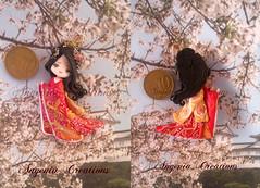 maiko fire (Angenia Creations) Tags: japan fire handmade maiko elements