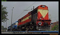 JHS BEAUTY!!! (An!rudh Photography) Tags: fort indian agra railways dlw jhs alco irfca wdm3a