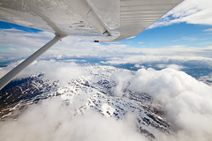 (Paul Nichols) Tags: light mountain snow norway canon landscape eos view aircraft wing sigma 7d 1020 cessna 172