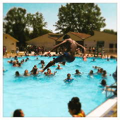 Marsh Creek Pool (Mr. Biggs) Tags: summer unitedstates pennsylvania swimmingpool marshcreek downingtown hipstamatic