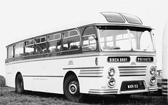 Willowbrook Tiger Cub with Birch. (steve vallance coach and bus) Tags: willowbrook leylandtigercub birchbros wxr52